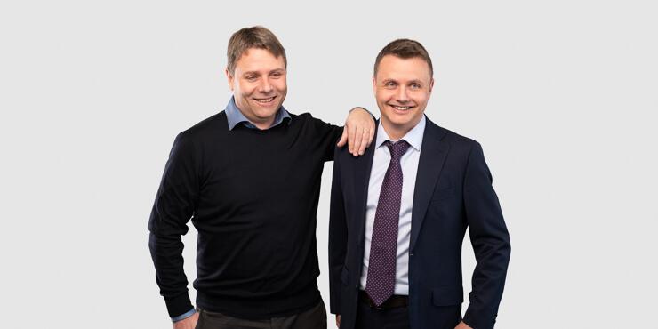 ICR Informatik Geschäftsleitung mit Roger und Remo Peduzzi